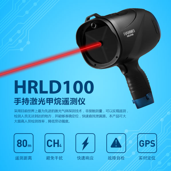 手持式激光甲烷遙測儀